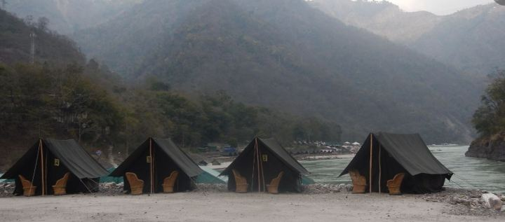 Image result for river rafting camp in rishikesh