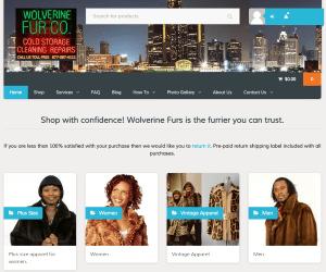 Wolverinefrus.com homepage screenshot