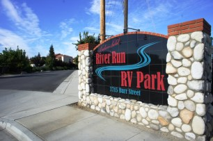 RV Park Entrance Sign