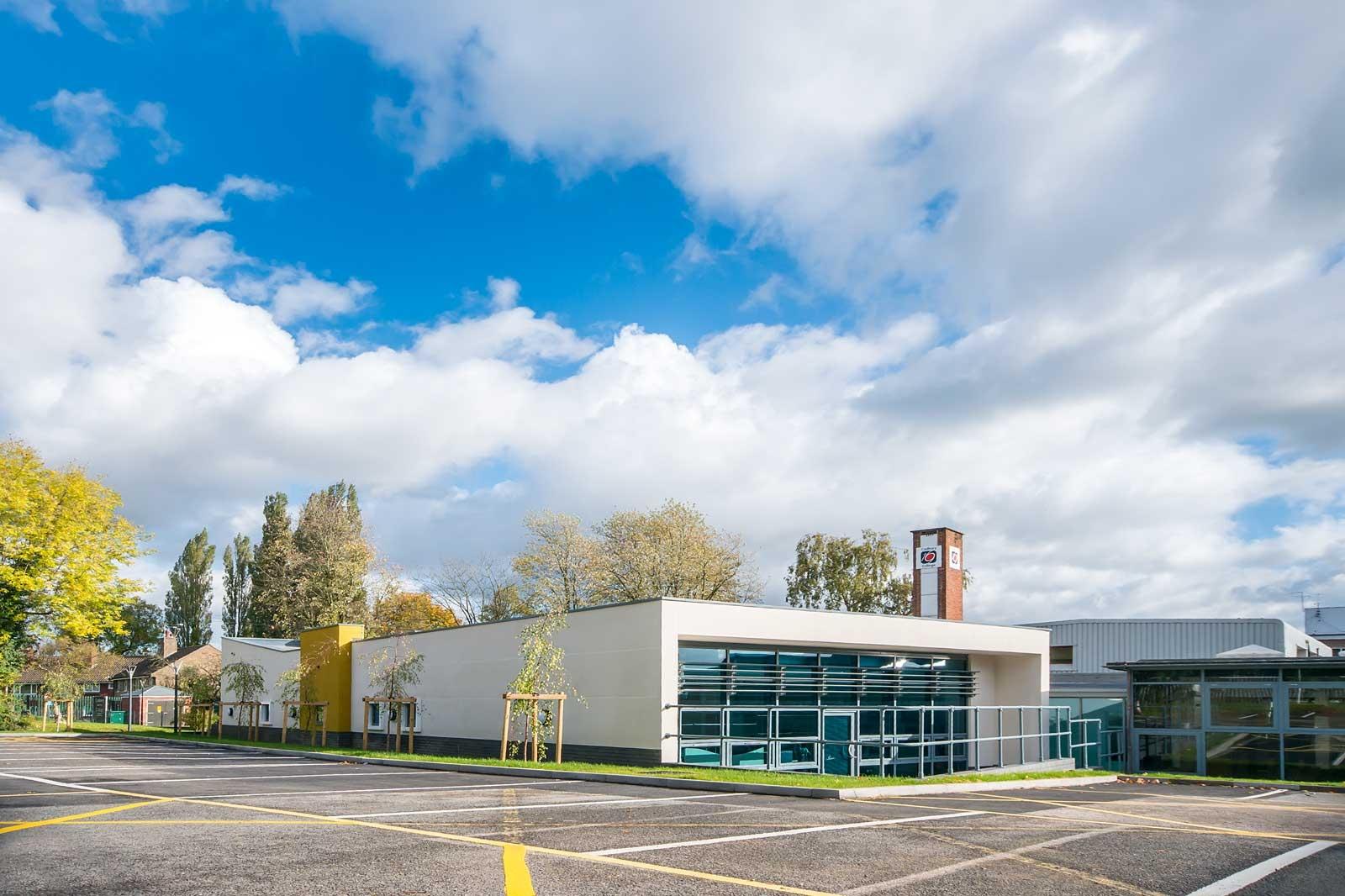 Graham Rivers Architects  New Reception Cadbury Sixth Form College
