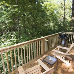 Mini Adirondack Chairs For Kids Room White Pine – Rivers Edge Treehouse Resort