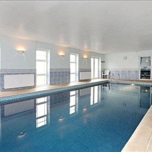 The Indoor Heated Pool in the main house