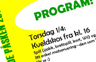 Program for påsken 2010