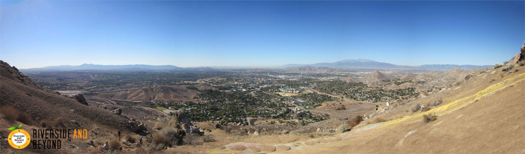 """View from the UCR Big """"C"""""""