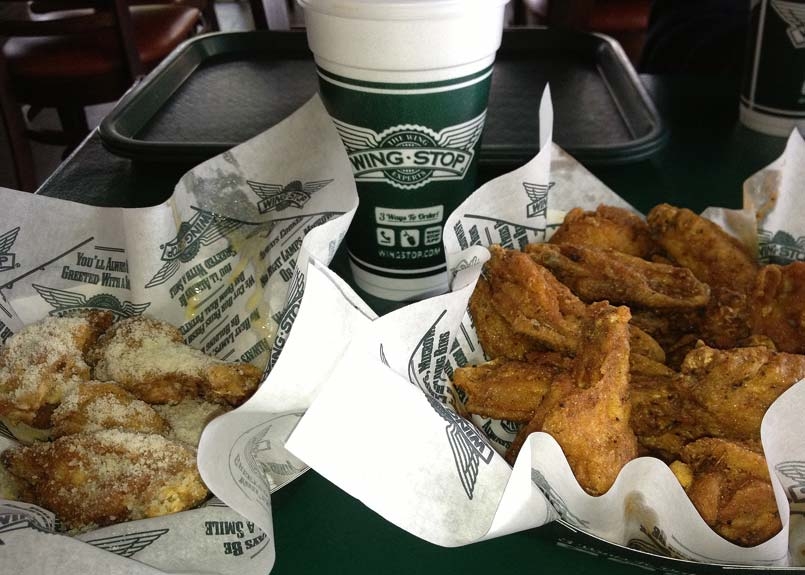 Wingstop on Riverwalk in Riverside - Great Wings