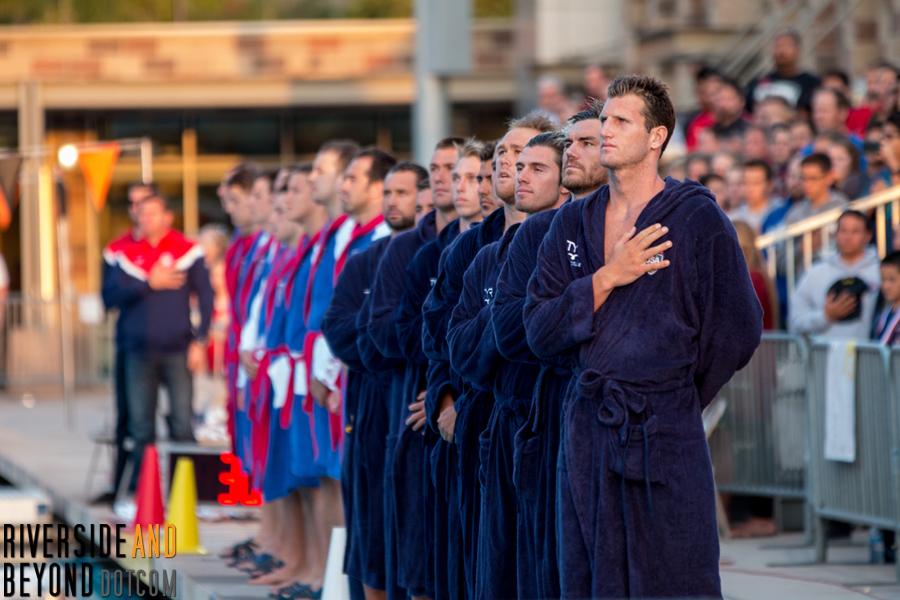 Men's Water Polo: USA vs. Serbia, 06/04/15 in Riverside, CA