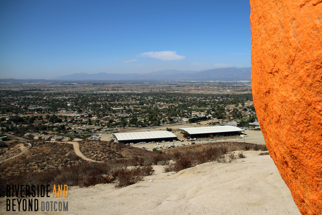 View from Pumpkin Rock - Norco