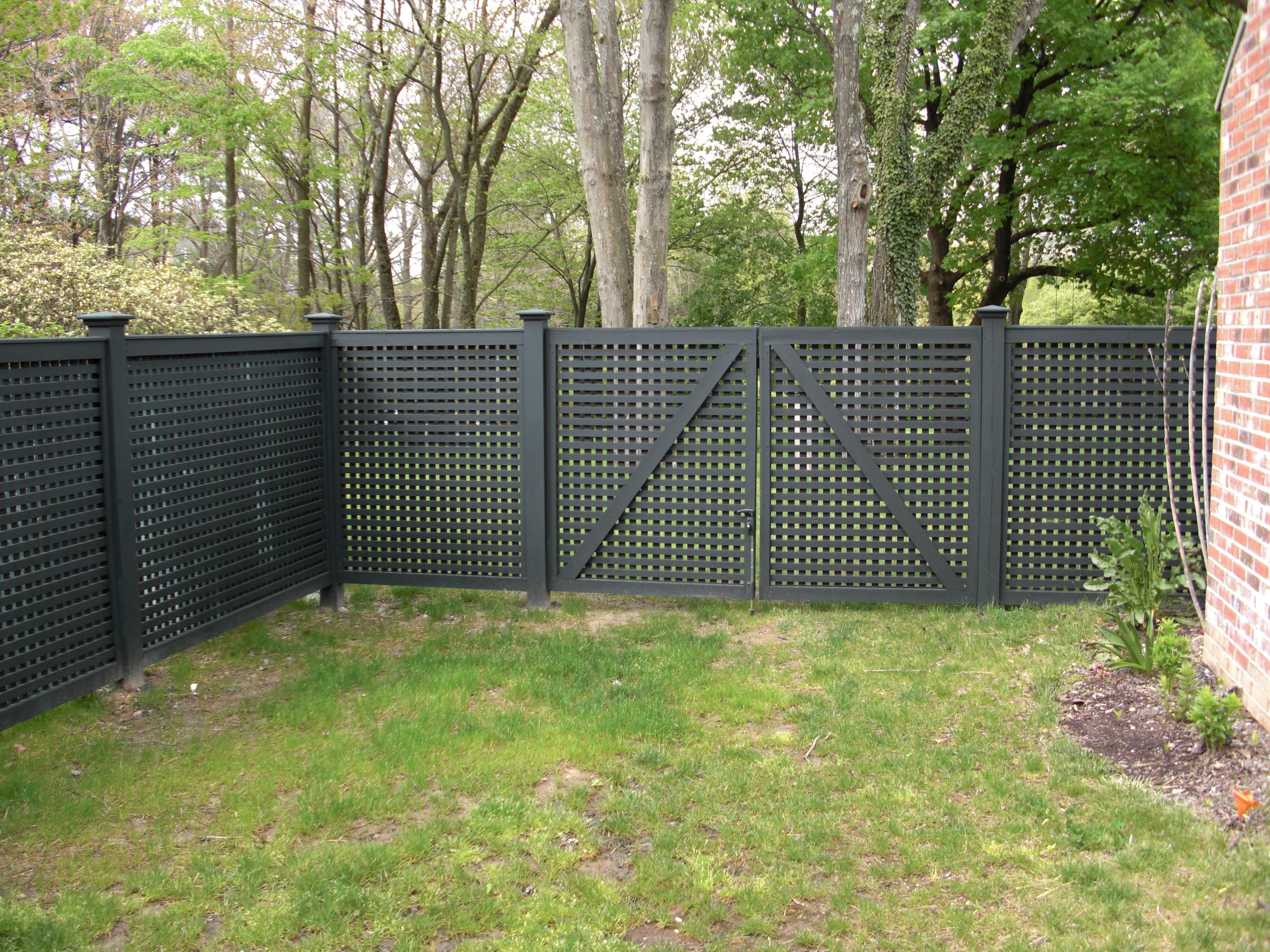Lattice Riverside Fence