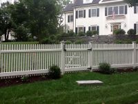 Driveway Gates and Picket Fence in New Canaan, CT ...