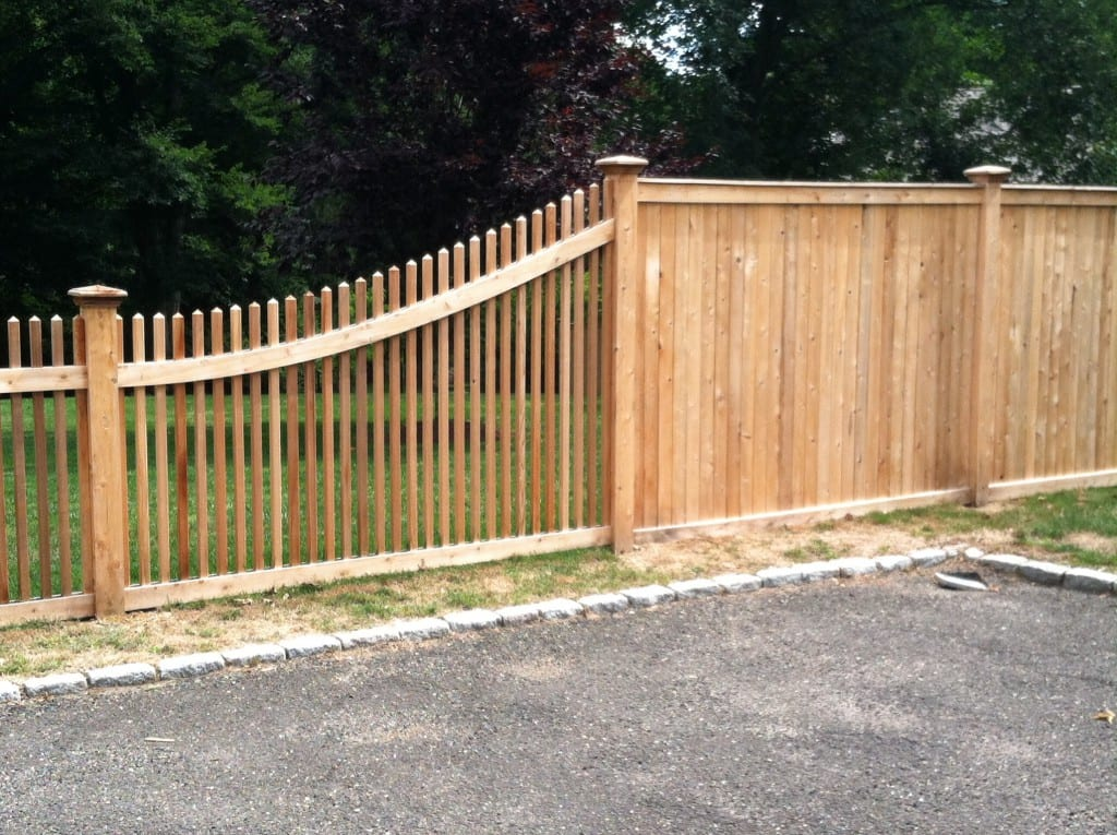 Tongue Amp Groove Riverside Fence
