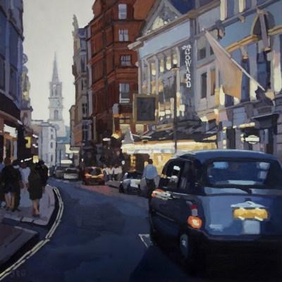 Dusk, St Martin's Lane