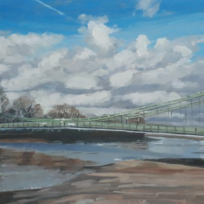 Storm Clouds over Hammersmith Bridge