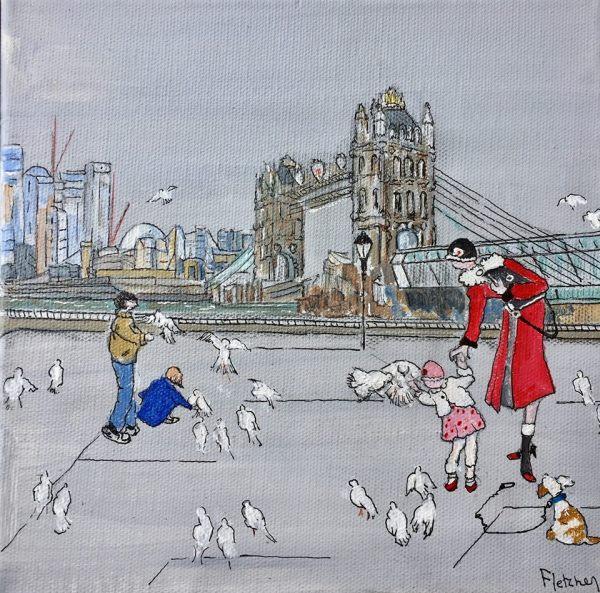 The Red Coat by Liz Fletcher Riverside Gallery Barnes
