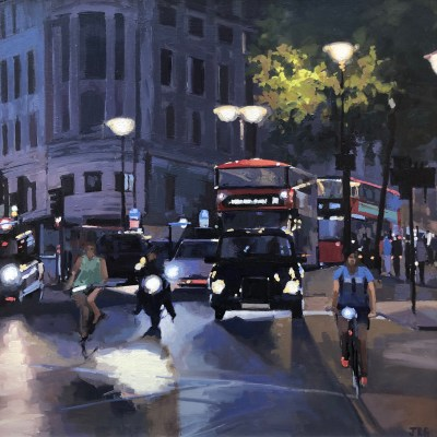 Evening Rush by Jennifer Greenland Riverside Gallery Barnes