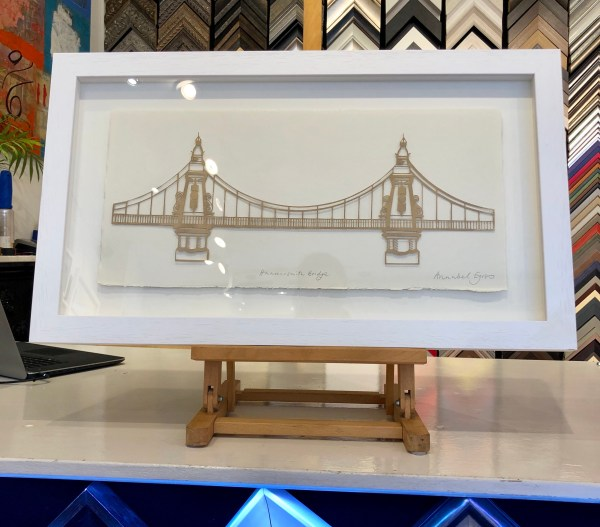 Hammersmith Bridge by Annabel Eyres Riverside Gallery Barnes
