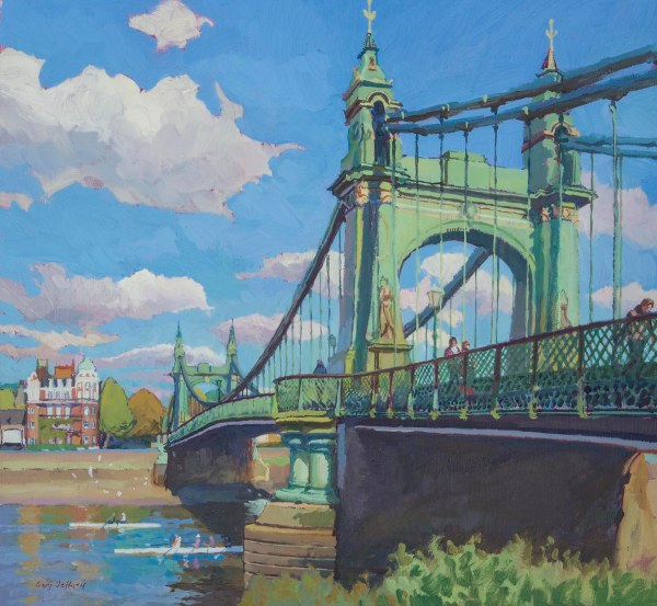 Hammersmith Bridge by Gary Jeffrey