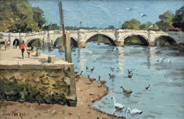 Richmond Bridge by Rod Pearce