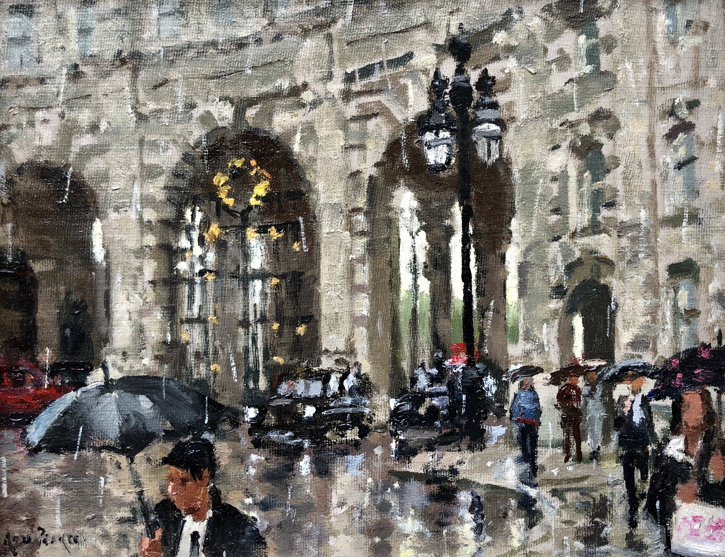 Admiralty Arch by Rod Pearce Riverside Gallery and Framing Barnes
