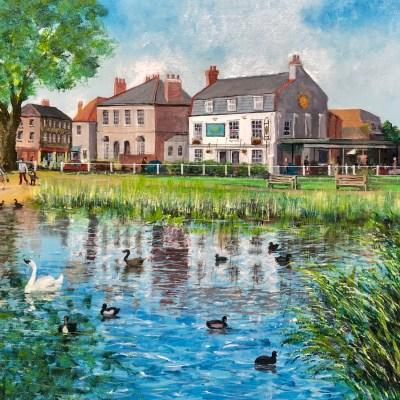 Barnes Pond by John Ronayne