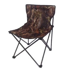 Portable Folding High Chair Rustic Dining Room Chairs Camo Realtree Foidaway Fishing