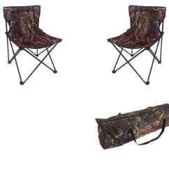 Fishing Chair Setup Egg Outdoor Realtree Folding X 2 Bag Portable Foidaway