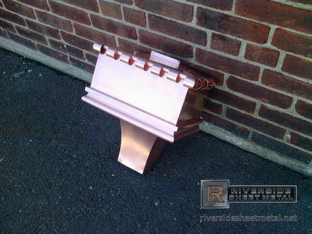 kitchen gutter seat covers for chairs supplies and accessories in copper aluminum
