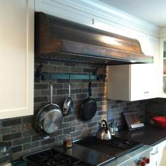 Kitchen Hood Vents Remodel Okc Copper Vent Restoration Job - Custom Riverside