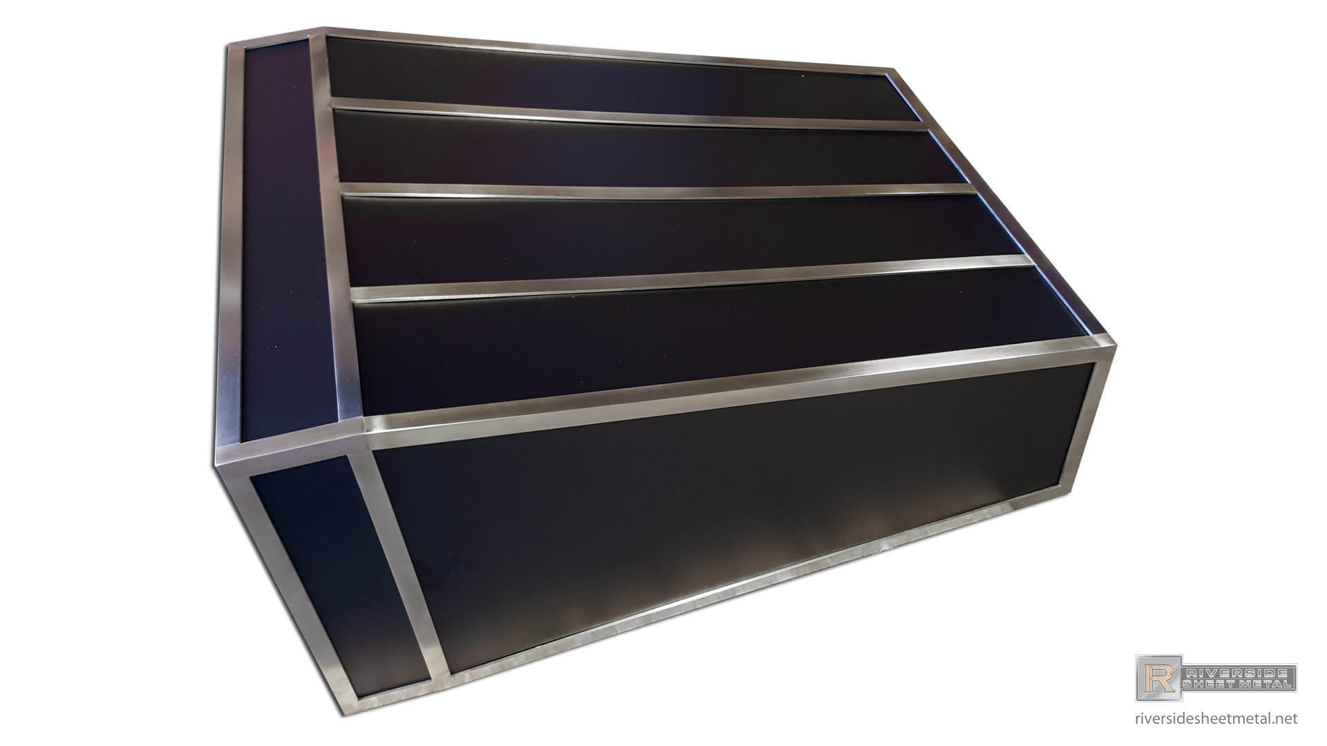 kitchen hoods for sale dish drying mat custom black hood vent powder coated with stainless steel ...
