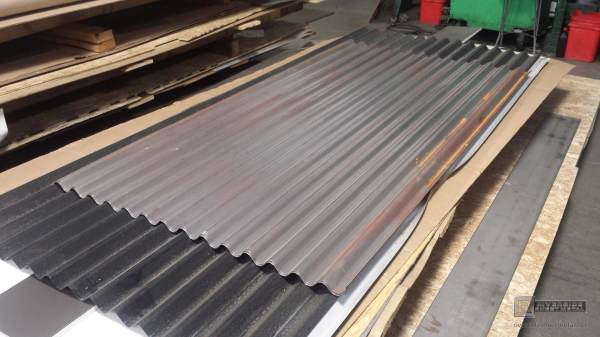 Corrugated Steel Roof Panel