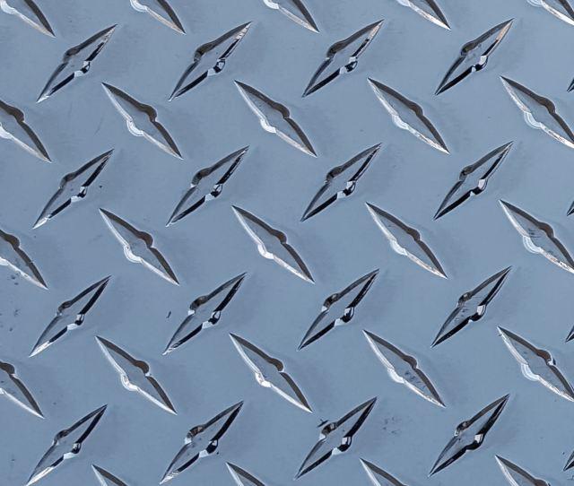 Diamond Plate Aluminum