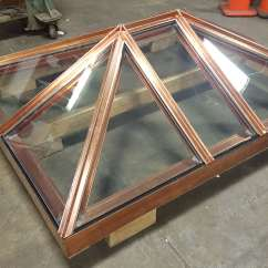 Stainless Steel Kitchen Cabinets For Sale Countertops Seattle Custom Skylight In Copper Made To Customer's Specifications