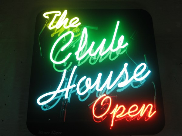 Rivers Signs & Neon Club House