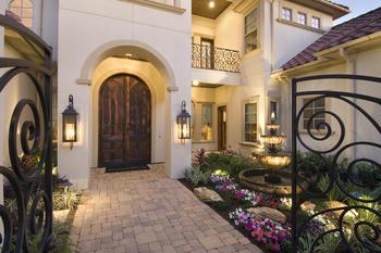 Luxury Houston Garden Homes  Riverstone Near Sugar Land TX