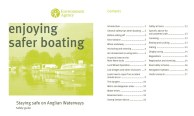 enjoyingsaferboatingcovercontents