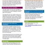 Bures Mill, Low Water Level Factsheet