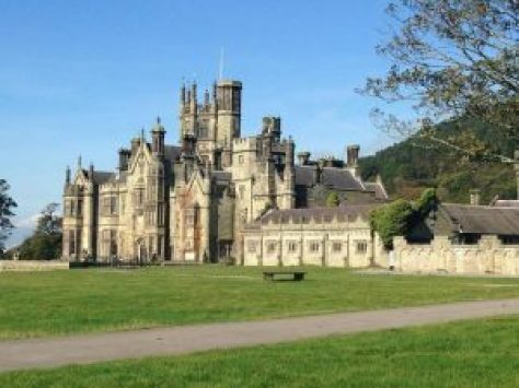 "alt=""Margam Park House Photograph"""