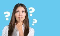 woman asks question