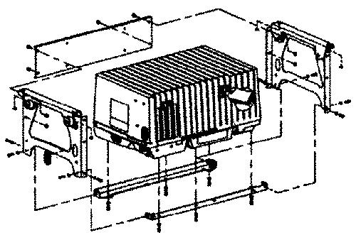 Onan Underfloor Mounting Kit
