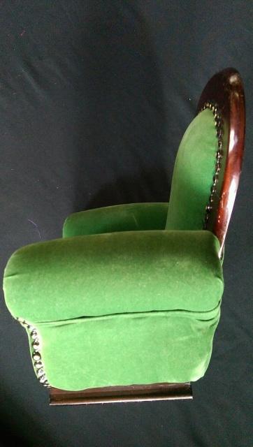 18in Doll VICTORIAN Parlor ArmChair Wood BJD Chair