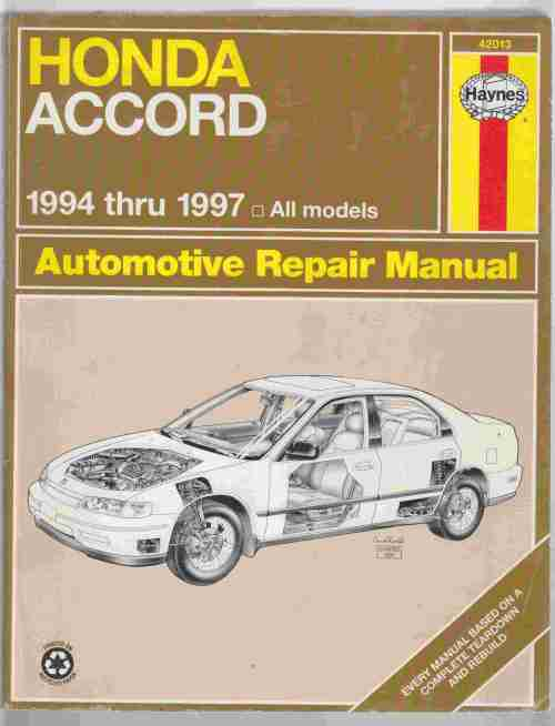 small resolution of image for honda accord 1994 thru 1997 automotive repair manual