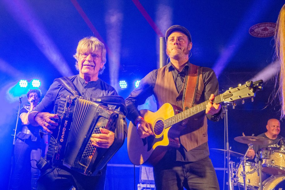 Jo van Strien en Roy Koopmans - River Zydeco Band @ ZydecoZity 2019 - Photo: Angelina Swart