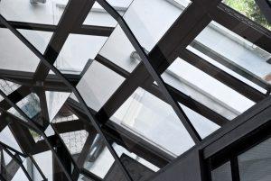 Copertura in vetro