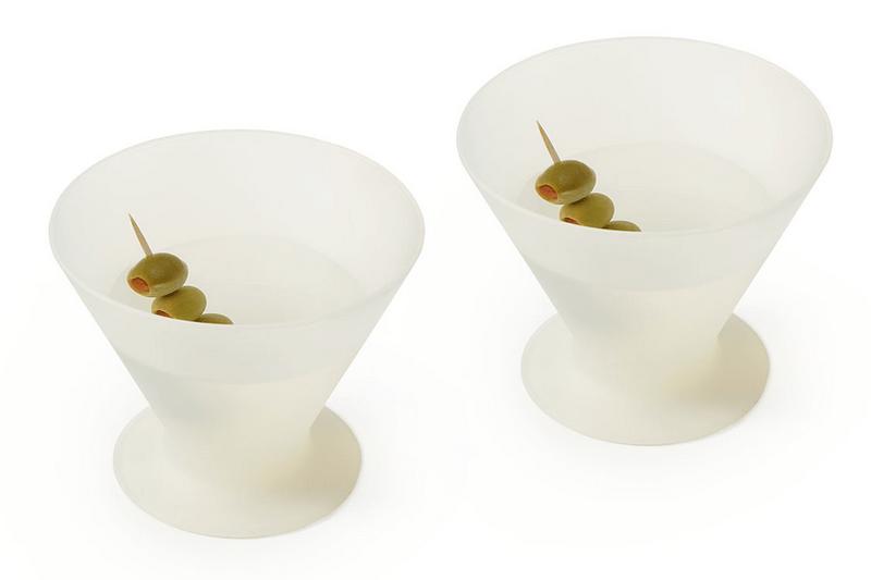 Silicone martini