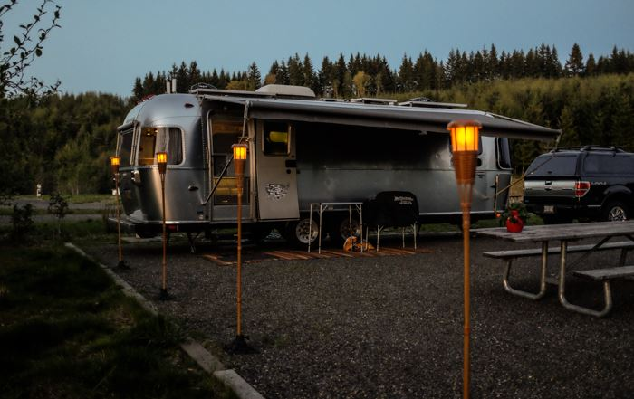 Our Airstream In Nature Riveted