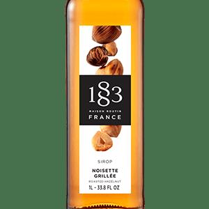 1883 hazelnut syrup
