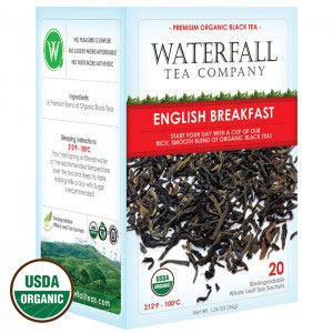 english breakfast organic tea