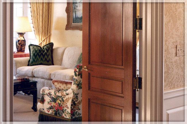 Bi Folding Doors Interior