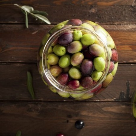Olive taggiasche in salamoia ricetta di Sara da Vasia