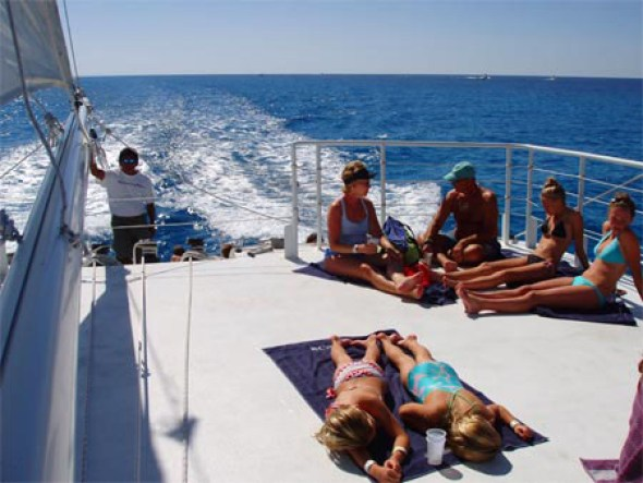 Cozumel catamarán