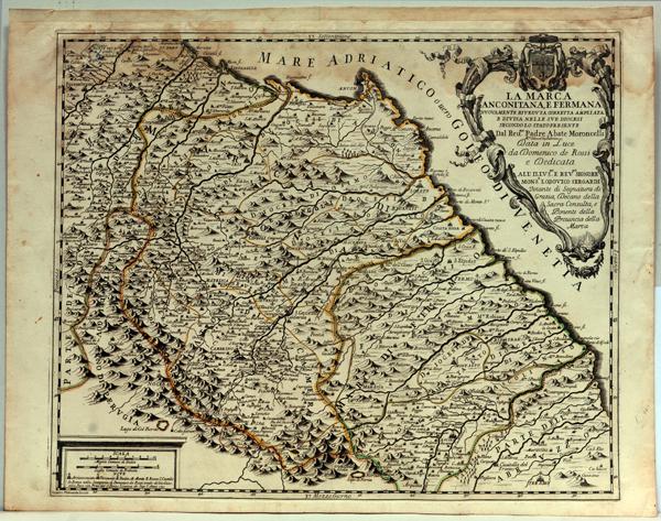 Riviera Oggi  Mappe storiche allAntico e le Palme
